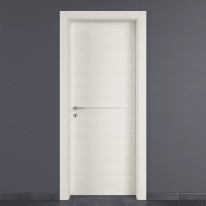 Porta da interno battente Hollow bianco matrix 70 x H 210 cm dx