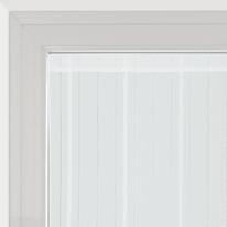 Tendina a vetro per finestra Picasso bianco 120 x 150 cm