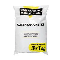Ricarica sali assorbiumidità Inodore