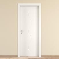Porta da interno battente Snake 90 x H 210 cm reversibile