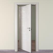Porta da interno rototraslante Hunk luna 80 x H 210 cm sx