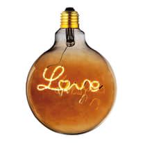 Lampadina decorativa LED E27 =20W luce calda 360°