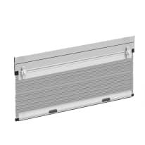 Zanzariera in kit plissettata per tapparella bianco L 130 x H 160 cm, spessore telaio 50 mm