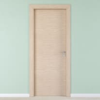 Porta per hotel battente Radisson oak rovere sbiancato 70 x H 210 cm sx