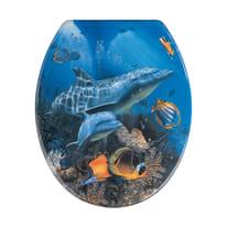 Copriwater Sea Life blu