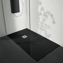 Piatto doccia acrilico Boston 120 x 70 cm nero