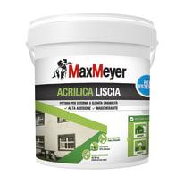 Pittura acrilica per esterno Max Meyer bianco 4 L