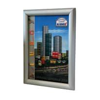 Bacheca porta avvisi Simplex1 argento 26 x 2 x 35 cm