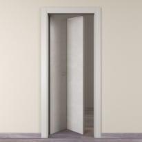 Porta da interno pieghevole Hunk luna 70 x H 210 cm sx