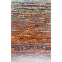 dipinto su tela Astratto rosso 90x140