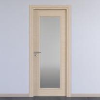 Porta da interno battente Spring rovere chiaro 60 x H 210 cm reversibile