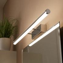 Luce da specchio Up&Down cromo 60 cm 30 W 1100 Lumen led integrato IP44