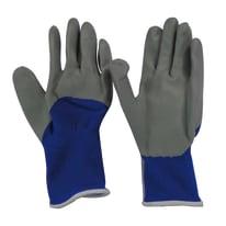 Guanti in nylon con spalmatura in nitrile Dexter Blu e grigi tg. 7/S