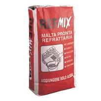 Malta refrattaria Refmix grigio 10 kg