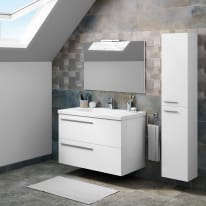 Mobile bagno Elea bianco L 91 cm