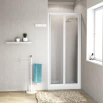 Porta doccia Elba 66-72, H 185 cm cristallo 3 mm piumato