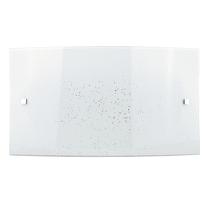 Applique Scinty bianco L 45 x H 25 cm