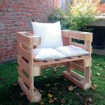 Pallet singolo legno L 80 x P 60 x H 14,5 cm grezzo