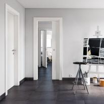 Porta da interno battente Rail bianco 80 x H 210 cm dx