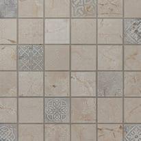 Mosaico Badges 30 x 30 cm beige