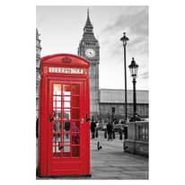 Bacheca porta chiavi Big Ben 7 posti Fantasia 20 x 1 x 30 cm