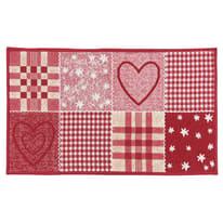 Tappetino cucina antiscivolo Master cuore rosso 50 x 270 cm