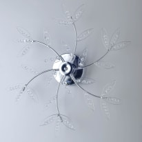 Plafoniera Asia cromo Ø 60 cm
