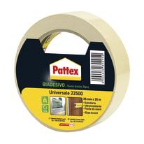 Nastro biadesivo Universale Pattex bianco 25 m x 25 mm