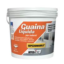 Impermeabilizzante tetti, terrazze, coperture Guaina Liquida rosso mattone 4 L
