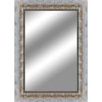 specchio da parete rettangolare Medea argento 100 x 140 cm