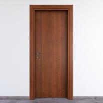 Porta per bed & breakfast battente Salisbury noce nazionale 60 x H 210 cm dx
