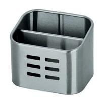 Porta posate e mestoli cromo L 10,5 x P 8,4 x H 8,5 cm
