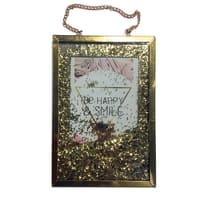 Cornice portafoto Glitter oro 10 x 15 cm