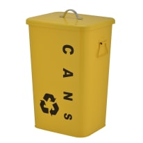 Pattumiera Dustbin 26 L giallo
