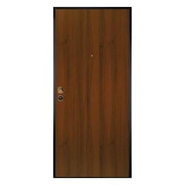 Porta blindata Alarm noce L 90 x H 200 cm sx