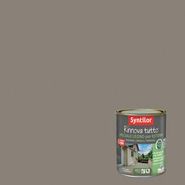 Vernice per esterno ad acqua Syntilor Rinnova Tutto marrone corteccia 2,5 L