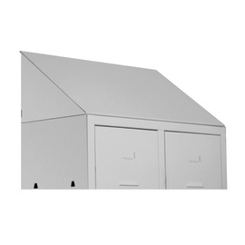 Tettuccio per armadio metallo grigio Pratiko L 50 x P 50 x H 35 cm