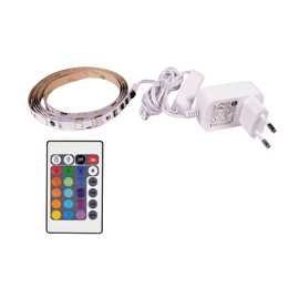Kit striscia LED non estensibile luce multicolor RGB m1,5