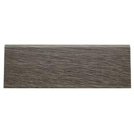 Battiscopa carta finish rivestito grigio 15 x 70 x 2400 mm