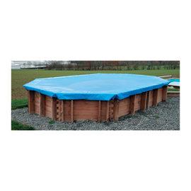 Copertura invernale per piscina Ø 581 cm
