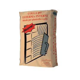 Colla in polvere per esterni C2 grigio 25 kg