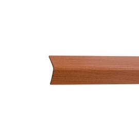 Paraspigolo PVC pellicolato ciliegio 2,5 x 24 x 3000 mm