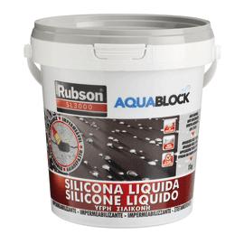 Impermeabilizzante Silicone Liquido nero 1 kg