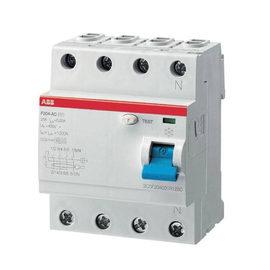 Interruttore differenziale puro ABB ELF204-63003A 3P+N 32 A