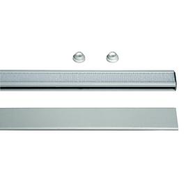 Barra velcrata singolo Miniplisse bianco 240 cm