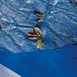 Copertura isotermica 267 micron per piscina 375 x 735 cm