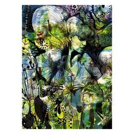 Fotomurale Aphrodite's garden multicolor 184 x 254 cm