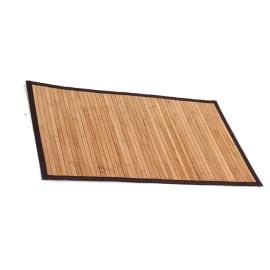 Tappeto bagno Bamboo marrone