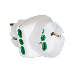 Adattatore 82230-E multiplo schuko, Fanton bianco