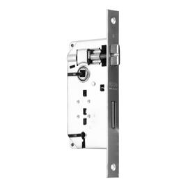 Serratura patent da infilare, entrata 4, interasse 70 mm, reversibile